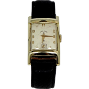Lord Elgin 1950's Man's 21 Jewels #670 Wrist Watch
