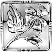 Danecraft with Felch Co. Mark Sterling Silver Pin