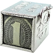 Vintage Sterling Mad Money Dollar Bill Charm