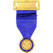New York State Assn of Fire Chiefs Badge 1950