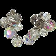 Juliana D & E Beaded Earrings with Black Diamond Chatons
