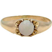 Victorian Gold Filled Opal Ring