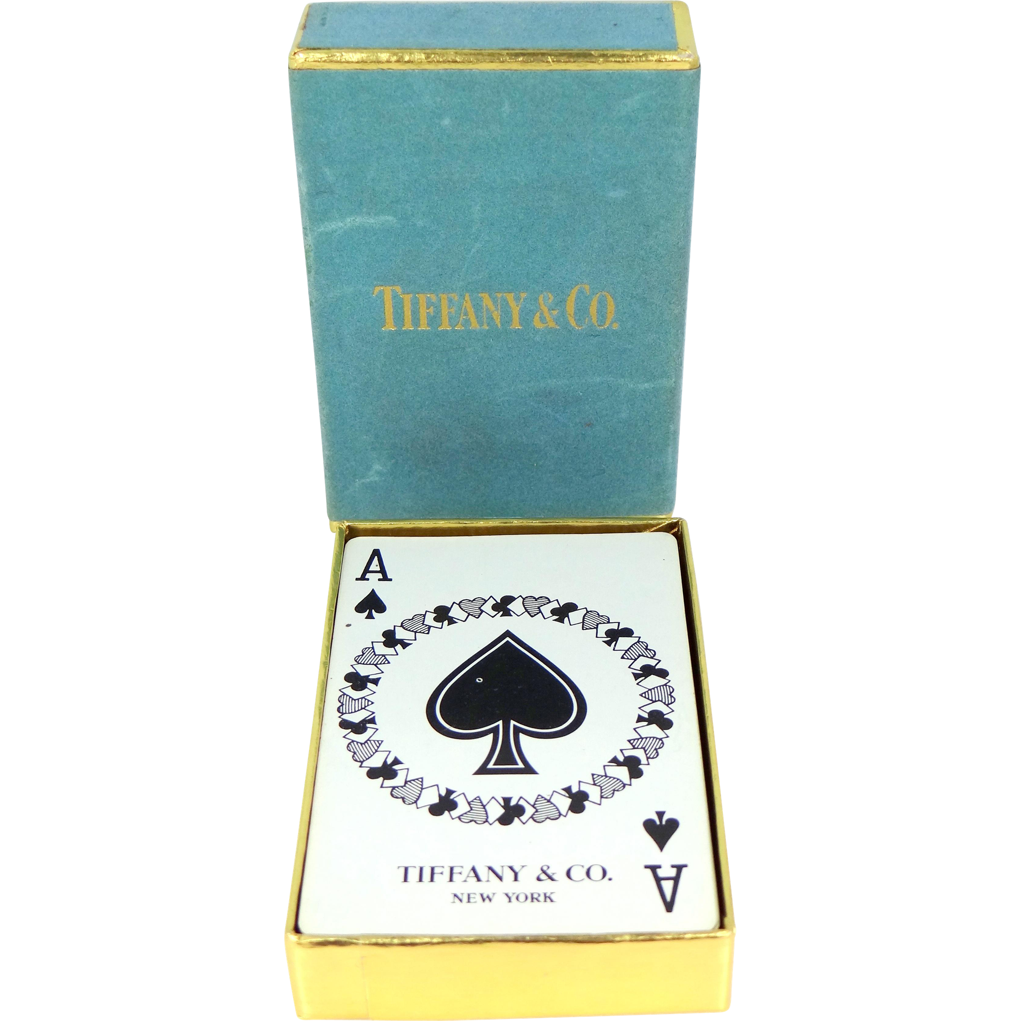 Tiffany & Co. Amusing Face Bridge Deck of Cards