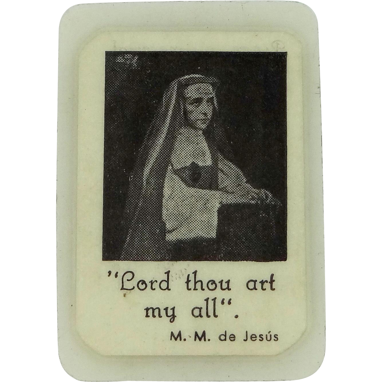 2nd Class Relic Servant of God Mother Mary of Jesus, Foundress of Society of Marie Reparatrice