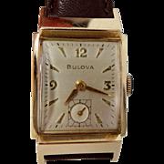 Man's Bulova 23 Jewel Wrist Watch 1956