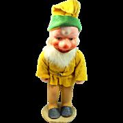 """U.S. Zone Germany 8"""" Composition Gnome Figurine Dwarf, Elf"""