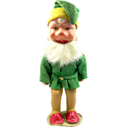 "U.S. Zone Germany, 8"" tall Composition Gnome Figurine"