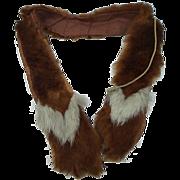 Victorian Doll Fur Stole
