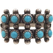 Bell Trading Co. Sterling Silver Turquoise Ring