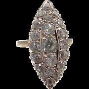 14k Gold 1930's Spinel Ring