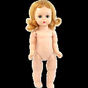 "Vintage Madame Alexander BKW 8"" Doll Triple Stitch Wig"