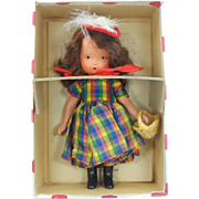 Nancy Ann Storybook Dolls One-Two Button my Shoe 113 Mint in Box