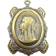 2nd Class Relic Medal Saint Frances Cabrini From Her Clothing