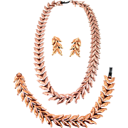 Mid Century RENOIR Copper Parure