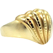 Classic 14k Beverly Hills Gold Size 8 Lady's Ring