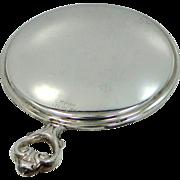 Nice Empire Sterling Pocket Mirror