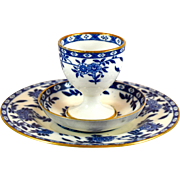 Pair MINTON Delft breakfast sets #G1613 (6pc)