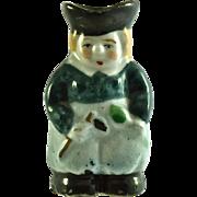 "JAPAN MIOJ Equestrian Toby Jug 2"" miniature figurine"
