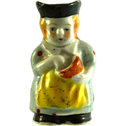 "JAPAN MIOJ Cook Toby Jug 2"" Miniature"