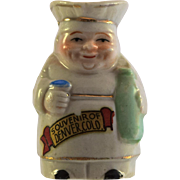 "JAPAN Chef Toby Jug 2"" Souvenir of Denver miniature figurine"