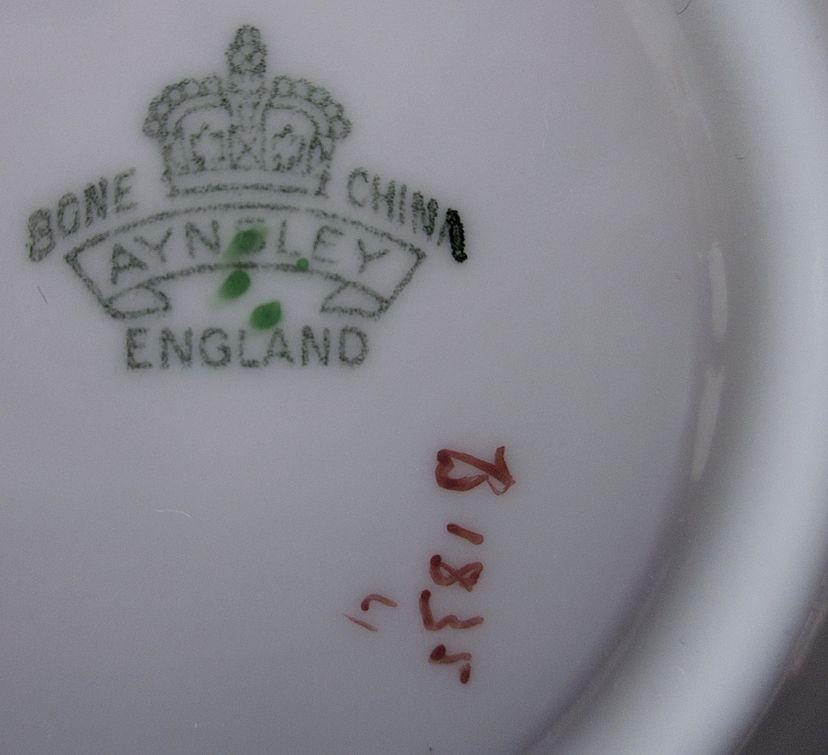 Aynsley 1930 S Bone China England Cup Amp Saucer B1835