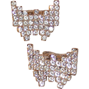 MUSI Shoe Clip – Prong Set Austrian Crystal Rhinestone - Small Butterfly