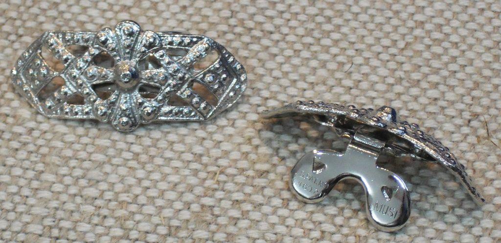 MUSI Shoe Clip – Cast Metal Faux Marcasite