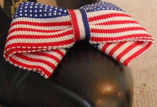 MUSI Flag -  Patriotic Shoe Clip