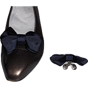 Navy Fabric MUSI Shoe Clip