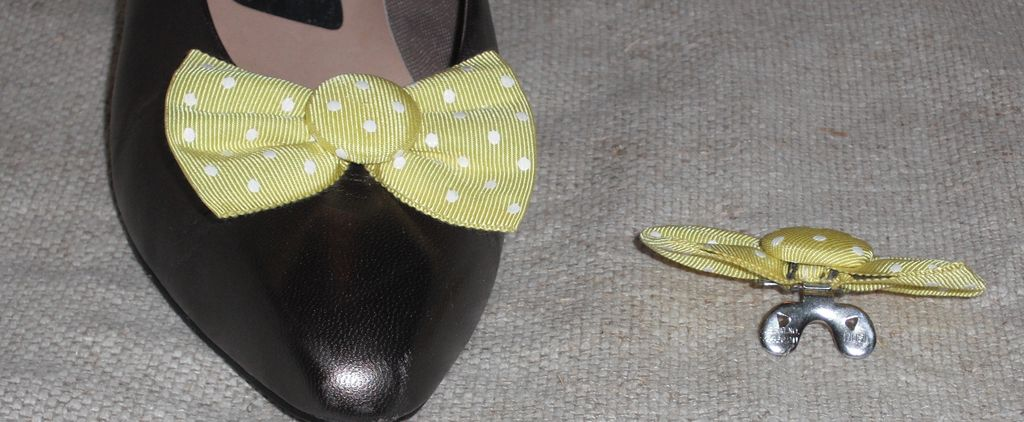 MUSI Shoe Clip - Kiwi Green with White Dots