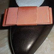 MUSI Shoe Clip Peach Faille