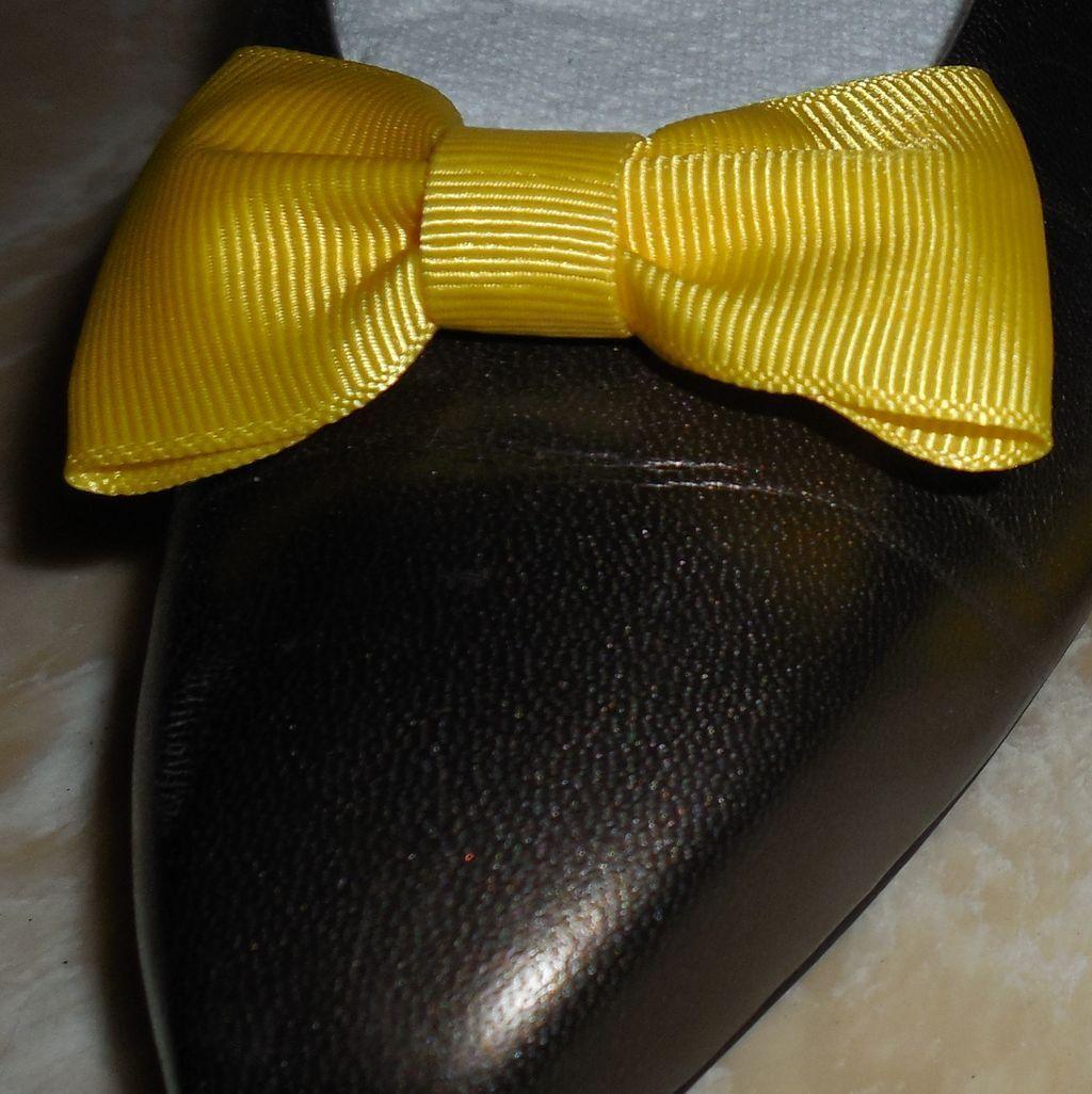 MUSI Shoe Clip Yellow Faille