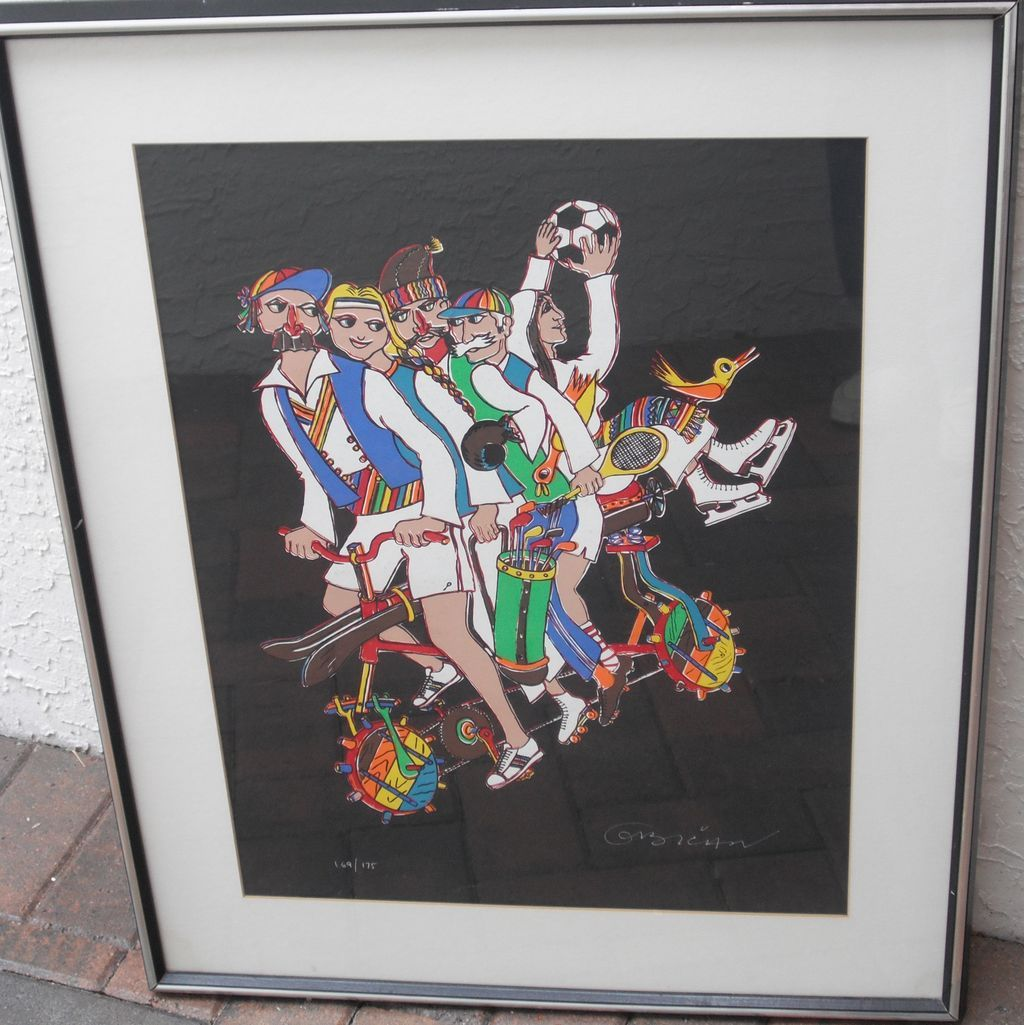 Jovan Obican Lithograph - Sports (Signed #169/175)
