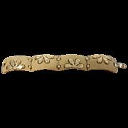 vintage Crown Trifari Modernistic Bracelet