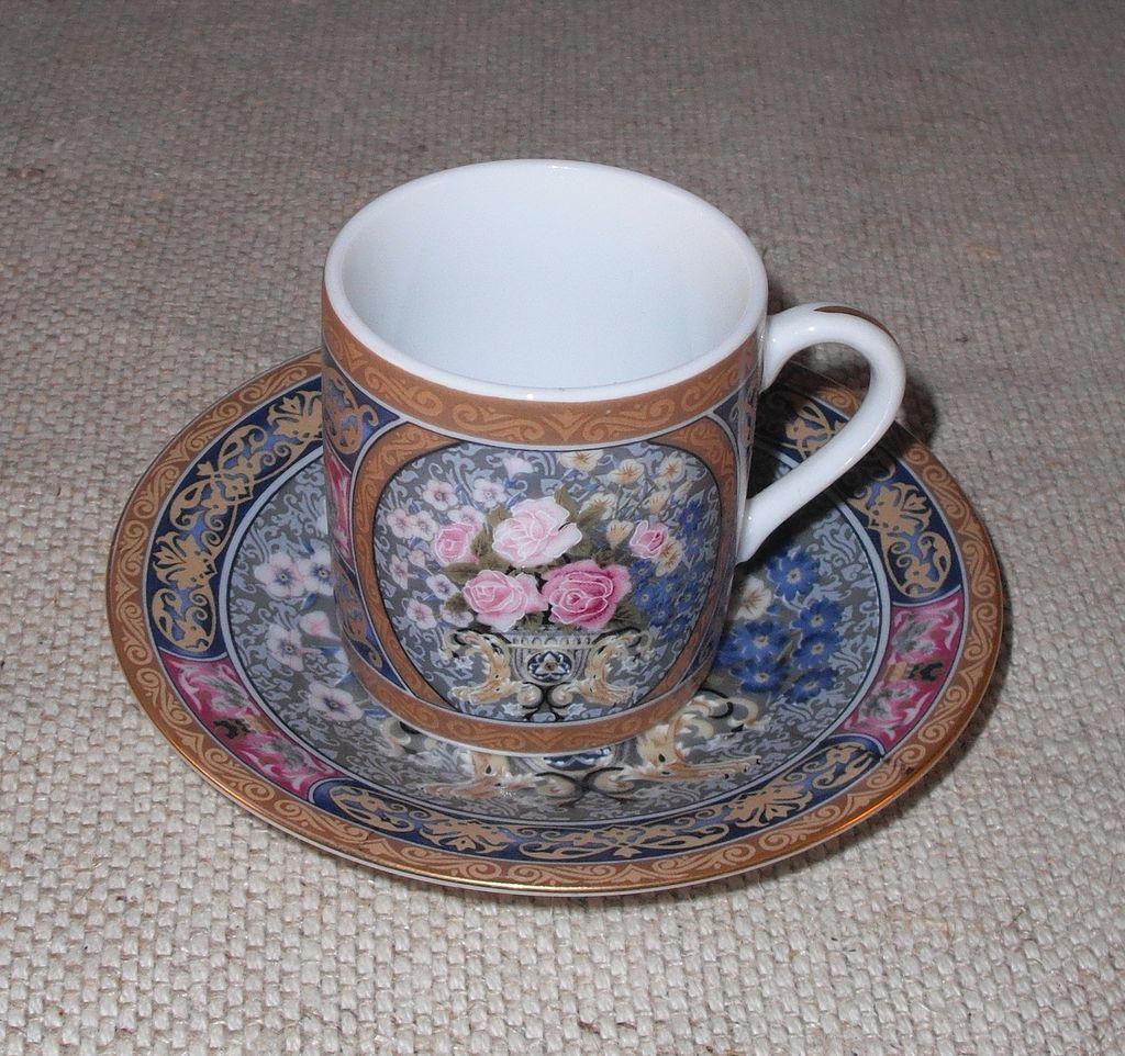Vintage Demitasse Set – 12 Cups & 9 Saucers