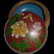 Vintage Small Cloisonné Trinket Box