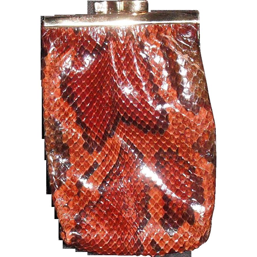 Vintage Snakeskin Python Cigarette Case