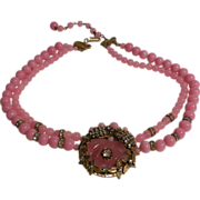 Haskell Style Necklace – Bubble Gum Pink