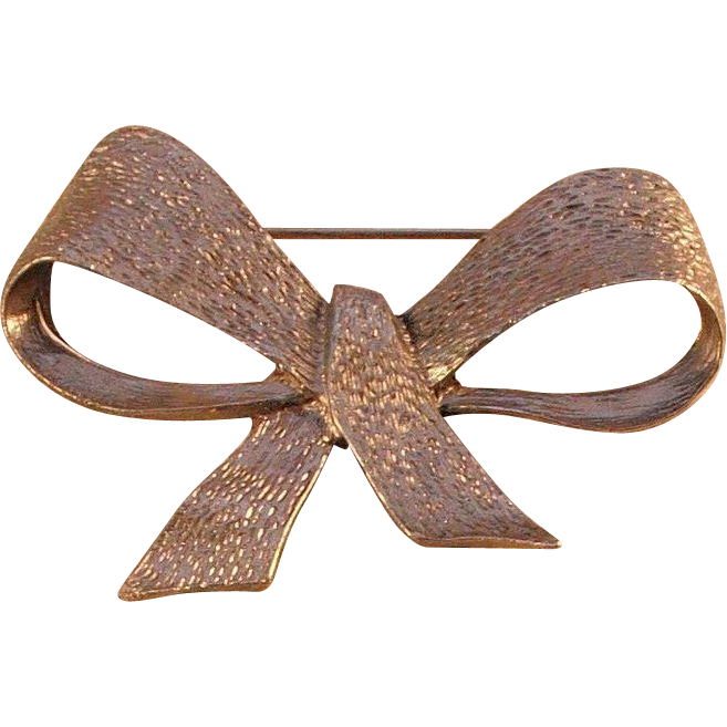 Metal Bow Pin by MUSI