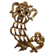 Avon Pekinese Dog Pin