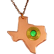 Texas Bullet Necklace