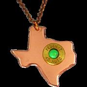 Texas Bullet Necklace