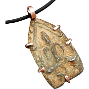 Sitting Meditation Buddha Amulet Pendant Necklace