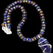 Lapis Lazuli Pendant Necklace
