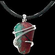 Sonora Sunrise Sterling Silver Wrap Pendant Necklace