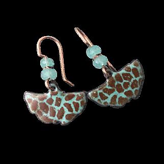 Colorful Enamel Earrings
