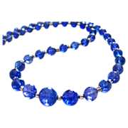 Rare-115ct Tanzanite-14k White Gold-Diamond Clasp-18in Simply Elegant One of a Kind Necklace