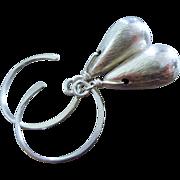 Everyday-Sterling Silver Satin Briolette Drop Dangle Earrings