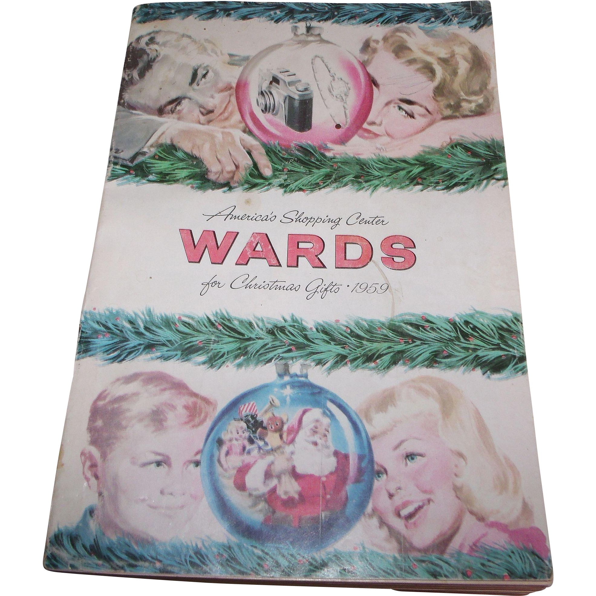 1959 Wards Christmas Catalog 555 Pages America's Shopping Center