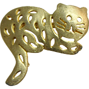 Pierced Kitten / Cat Pin Ultra Craft